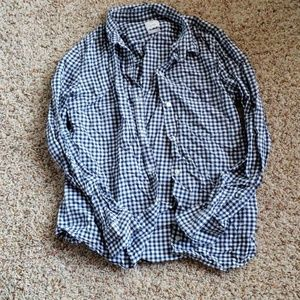 Gap Fitted Boyfriend Button Down